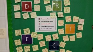 Year 8 students use DR ICE to encourage deeper thinking
