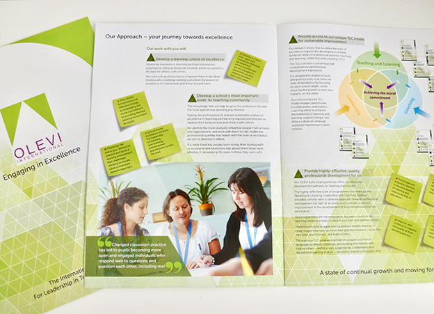 OLEVI Brochure. Teaching and Learning, Leadership and Coaching CPD